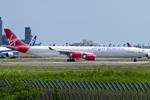 Scotchさんが、成田国際空港で撮影したヴァージン・アトランティック航空 A340-642の航空フォト(写真)