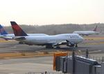 ふじいあきらさんが、成田国際空港で撮影したデルタ航空 747-451の航空フォト(飛行機 写真・画像)