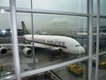 T.Sazenさんが、香港国際空港で撮影したシンガポール航空 A380-841の航空フォト(写真)
