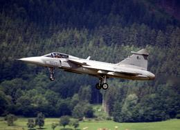 航空フォト:9245 チェコ空軍 JAS39 GRIPEN