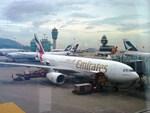 T.Sazenさんが、香港国際空港で撮影したエミレーツ航空 A330-243の航空フォト(写真)