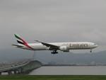 aquaさんが、関西国際空港で撮影したエミレーツ航空 777-31H/ERの航空フォト(写真)