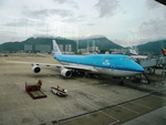 T.Sazenさんが、香港国際空港で撮影したKLMオランダ航空 747-406Mの航空フォト(写真)