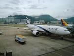 T.Sazenさんが、香港国際空港で撮影したエル・アル航空 777-258/ERの航空フォト(写真)