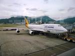 T.Sazenさんが、香港国際空港で撮影したエア・パシフィック 747-412の航空フォト(写真)