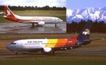 WING_ACEさんが、クライストチャーチ国際空港で撮影したエア・パシフィック 737-33Aの航空フォト(飛行機 写真・画像)