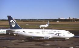 WING_ACEさんが、クライストチャーチ国際空港で撮影したニュージーランド航空 737-219/Advの航空フォト(飛行機 写真・画像)