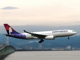 aquaさんが、関西国際空港で撮影したハワイアン航空 A330-243の航空フォト(飛行機 写真・画像)