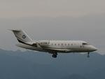 aquaさんが、関西国際空港で撮影した不明 Challenger 600の航空フォト(写真)