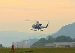 ふじいあきらさんが、広島空港で撮影した海上保安庁 412EPの航空フォト(写真)