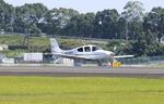 Kuuさんが、鹿児島空港で撮影した日本個人所有 SR22 GTSの航空フォト(飛行機 写真・画像)