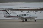 ニライカナイさんが、新潟空港で撮影した航空大学校 Baron G58の航空フォト(写真)
