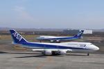 SKYLINEさんが、新千歳空港で撮影した全日空 747-481(D)の航空フォト(写真)