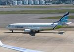 ふじいあきらさんが、福岡空港で撮影したエアプサン 737-48Eの航空フォト(飛行機 写真・画像)