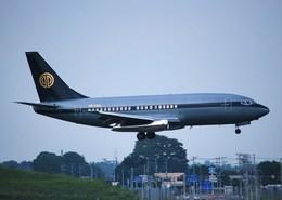 tsukatakuさんが、成田国際空港で撮影したスカイ・アヴィエーション 737-2W8/Advの航空フォト(飛行機 写真・画像)
