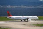 T.Sazenさんが、関西国際空港で撮影したトランスアジア航空 A321-131の航空フォト(飛行機 写真・画像)