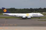 WING_ACEさんが、成田国際空港で撮影したルフトハンザドイツ航空 747-430の航空フォト(飛行機 写真・画像)
