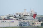 ひでかずさんが、宮崎空港で撮影した日本エアコミューター DHC-8-402Q Dash 8の航空フォト(飛行機 写真・画像)
