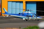Chofu Spotter Ariaさんが、東京ヘリポートで撮影した日本デジタル研究所(JDL) A109E Powerの航空フォト(飛行機 写真・画像)