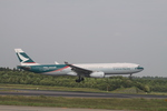 matsuさんが、成田国際空港で撮影したキャセイパシフィック航空 A330-342Xの航空フォト(写真)