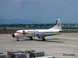 Shintaroさんが、ハートヤイ国際空港で撮影したプーケット航空 YS-11A-213の航空フォト(飛行機 写真・画像)