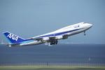 Re4/4さんが、羽田空港で撮影した全日空 747-481(D)の航空フォト(写真)
