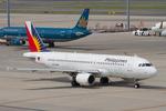 Scotchさんが、中部国際空港で撮影したフィリピン航空 A320-214の航空フォト(飛行機 写真・画像)