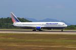 ふじいあきらさんが、広島空港で撮影したトランスアエロ航空 767-319/ERの航空フォト(飛行機 写真・画像)