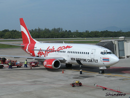 Shintaroさんが、ハートヤイ国際空港で撮影したタイ・エアアジア 737-3T0の航空フォト(飛行機 写真・画像)