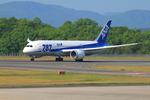 広島空港 - Hiroshima Airport [HIJ/RJOA]で撮影された全日空 - All Nippon Airways [NH/ANA]の航空機写真