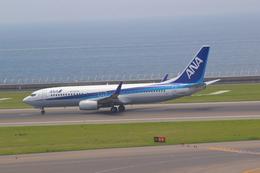 みきてぃさんが、中部国際空港で撮影したエアーニッポン 737-881の航空フォト(飛行機 写真・画像)