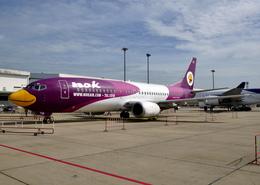 RA-86141さんが、ドンムアン空港で撮影したノックエア 737-4D7の航空フォト(飛行機 写真・画像)