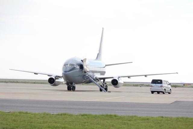 Spiral FLYさんが、中部国際空港で撮影したスカイ・アヴィエーション 737-2W8/Advの航空フォト(飛行機 写真・画像)