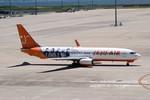 かみきりむしさんが、中部国際空港で撮影したチェジュ航空 737-86Nの航空フォト(写真)