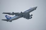 m-takagiさんが、羽田空港で撮影した全日空 747-481(D)の航空フォト(飛行機 写真・画像)
