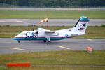 Kuuさんが、新千歳空港で撮影したサハリン航空 DHC-8-201Q Dash 8の航空フォト(飛行機 写真・画像)
