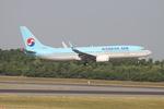 matsuさんが、成田国際空港で撮影した大韓航空 737-8SHの航空フォト(飛行機 写真・画像)