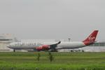matsuさんが、成田国際空港で撮影したヴァージン・アトランティック航空 A340-642の航空フォト(写真)