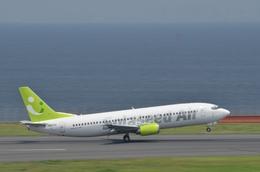 あっしーさんが、羽田空港で撮影したソラシド エア 737-43Qの航空フォト(飛行機 写真・画像)