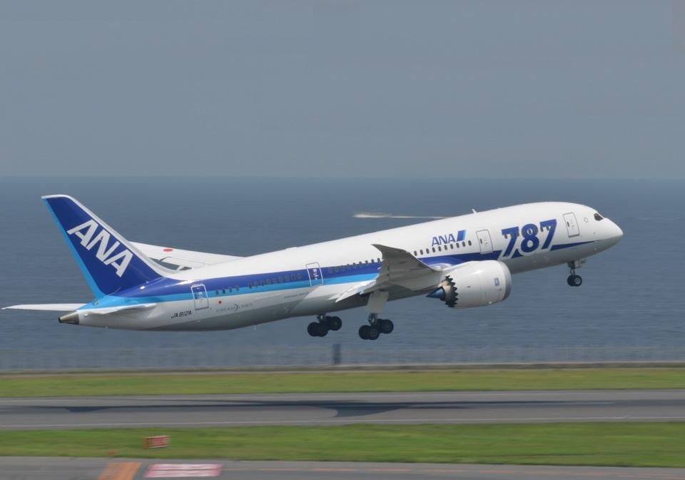 あっしーさんの全日空 Boeing 787-8 Dreamliner (JA812A) 航空フォト