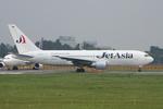 WING_ACEさんが、成田国際空港で撮影したジェット・アジア・エアウェイズ 767-246の航空フォト(飛行機 写真・画像)