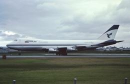 航空フォト:EP-ICA イラン航空 747-200