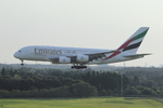 SKYLINEさんが、成田国際空港で撮影したエミレーツ航空 A380-861の航空フォト(写真)