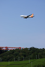 xxxxxzさんが、静岡空港で撮影したエズニス航空 737-7V3の航空フォト(写真)