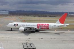 masyu1011さんが、新千歳空港で撮影した日本航空 777-246の航空フォト(飛行機 写真・画像)