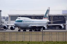 mameshibaさんが、成田国際空港で撮影したキャセイパシフィック航空 747-412(BCF)の航空フォト(飛行機 写真・画像)