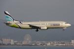 WING_ACEさんが、関西国際空港で撮影したエアプサン 737-48Eの航空フォト(飛行機 写真・画像)