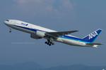 Scotchさんが、小松空港で撮影した全日空 777-281の航空フォト(写真)