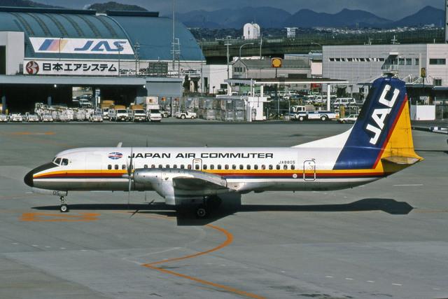日本エアシステム451便着陸失敗事故