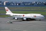 Gambardierさんが、羽田空港で撮影した日本航空 747-446Dの航空フォト(写真)